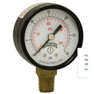 Winters Air Compressor Low Pressure Switch