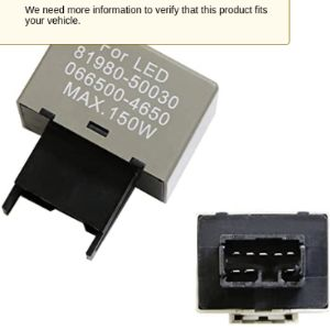 Ijdmtoy 8 Pin Flasher Relay