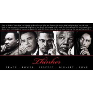Art Frame, Llc. Nelson Mandela Martin Luther King