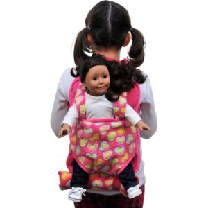 The Queens Treasures Childrens Doll Carrier
