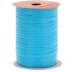 Berwick Turquoise Raffia Ribbon