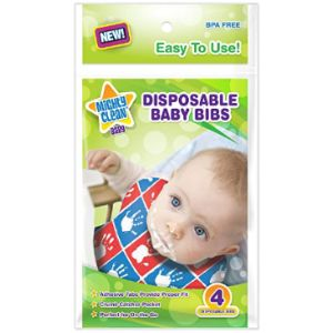 Mighty Clean Baby Disposable Baby Bib