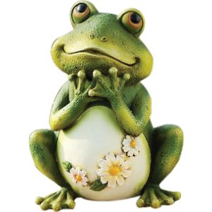 Snoogg Lady Flower Frog
