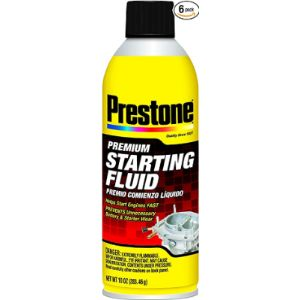 Prestone Car Starting Fluid