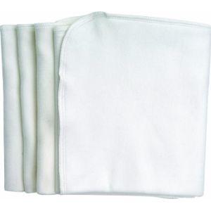 Under The Nile Burp Cloth White