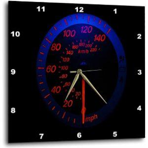 3Drose Speedometer Wall Clock