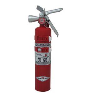 Labelmaster Halon Car Fire Extinguisher