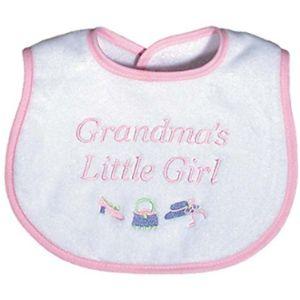Raindrops Grandma Baby Bib