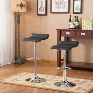 Roundhill Furniture Bar Stool Chair Set