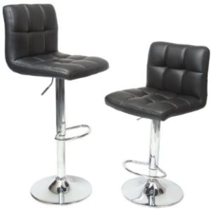 Roundhill Furniture S Adjustable Hydraulic Stool