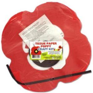 Bulk Buys Tissue Paper Poppy