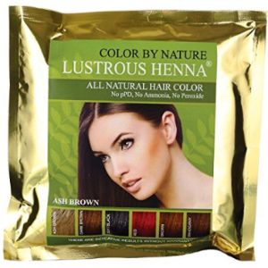 Color By Nature Lustrous Henna Dye Ombre Henna Hairs