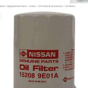 Nissan App Oil Filter