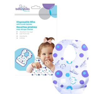 Baby Works Disposable Baby Bib