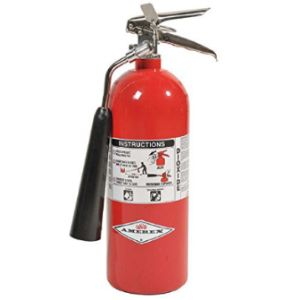 Labelmaster Home Co2 Fire Extinguisher