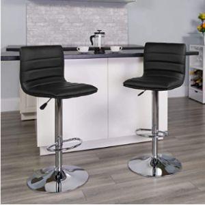 Flash Furniture Adjustable Height Swivel Stool