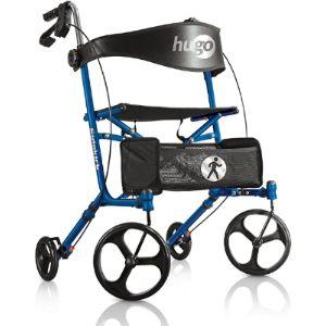 Hugo Mobility Rolling Walker Transport Chair
