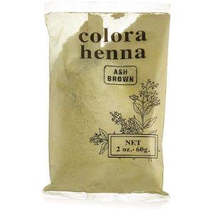 Colora Henna Ash Dye Brown Henna Hair