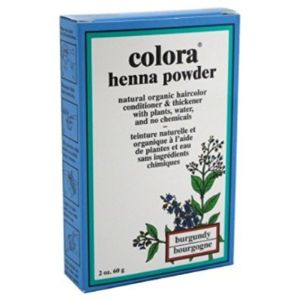 Colora Henna Burgundy Henna Powder