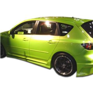 Extreme Dimensions Mazda 3 Side Skirt