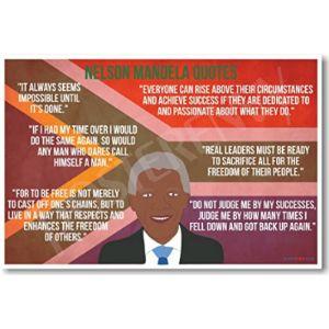 Posterenvy Famous Quote Nelson Mandela