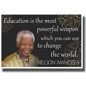 Posterenvy Nelson Mandela Inspiration