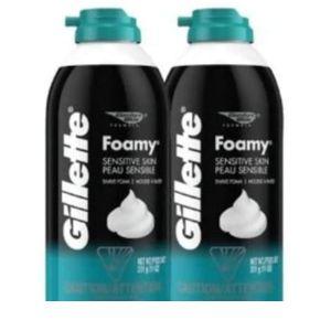 Gillette Foamy Shaving Cream Regular