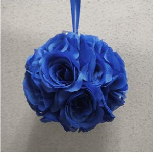 Party Spin Royal Blue Flower Ball