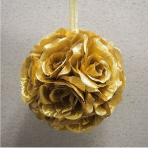 Party Spin Gold Flower Ball