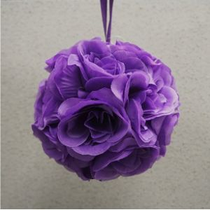 Party Spin Purple Shaped Flower Ball
