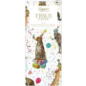 Caspari Animal Tissue Paper