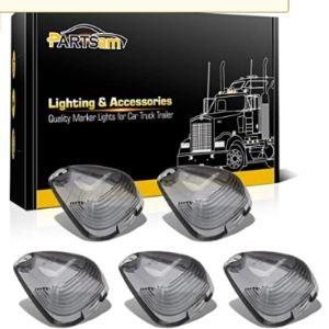 Partsam Marker Light Lens Cover