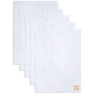 Burts Bees Baby Burp Cloth White