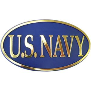 99 Volts Navy Trailer Hitch Cover