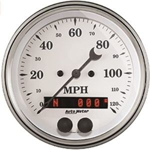 Auto Meter Speedometer Calibration