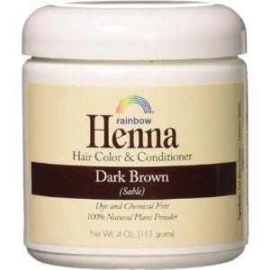 Rainbow Research Liquid Henna Hair Color