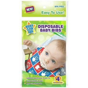 Mighty Clean Disposable Baby Bib