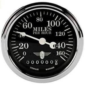 Stewart Warner Electric Speedometer