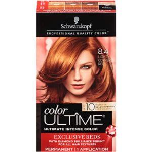 Schwarzkopf Ash Dye Brown Henna Hair