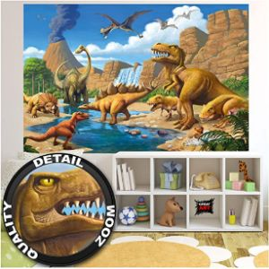 Great Art Good Dinosaur Poster