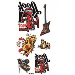 Ggsell Guitar Tattoo Design