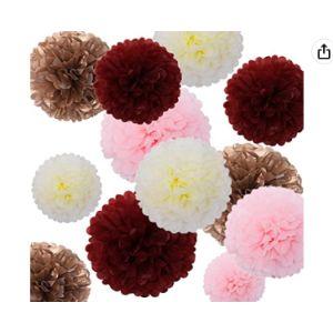 Fonder Mols Tissue Paper Flower Rose