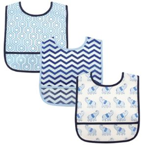 Luvable Friends Picture Baby Bib