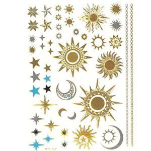 Allydrew Sun Henna Tattoo