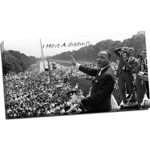 Panther Print Martin Luther King Picture