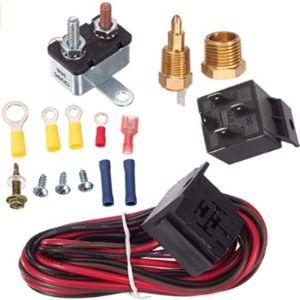 Partssquare Switch Radiator Fan Relay