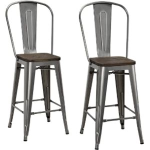 Dhp Metal Stool Chair