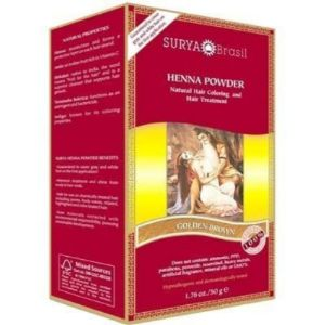 Surya Brasil Golden Brown Henna Cream