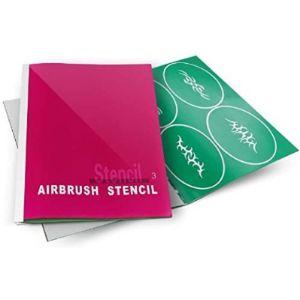 Aerograph Airbrush Tattoo Stencil Book