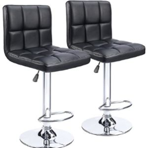 Homall Bar Stool Chair Set